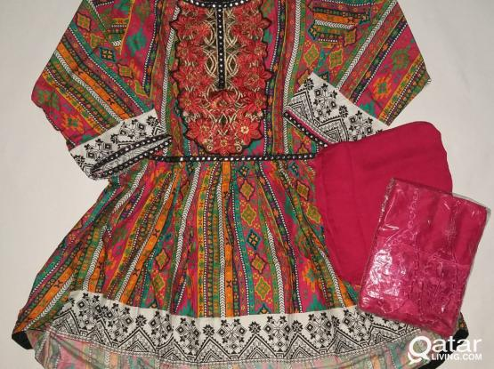 Pakistani dresses casual wear with reasonable price