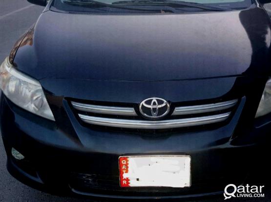 Toyota Corolla GLI 2008