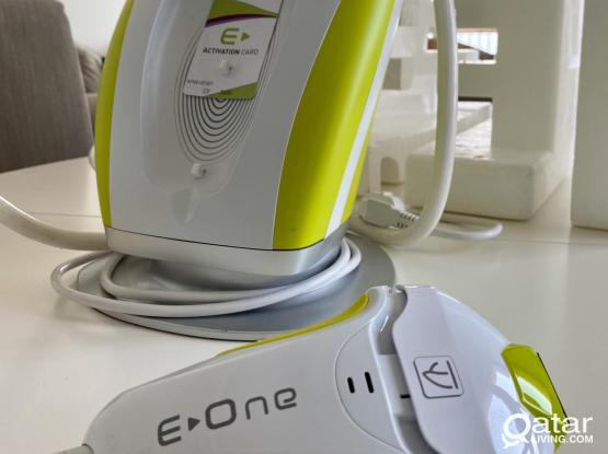 E one Permanent hair removal at home