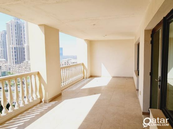 2 BR Flat in Pearl-Qatar with Store 2 parking