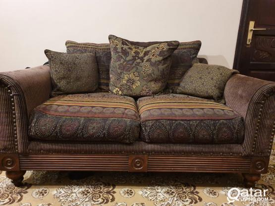 Sofa Set 7 Seater (3+2+2) from Home Center for Sale
