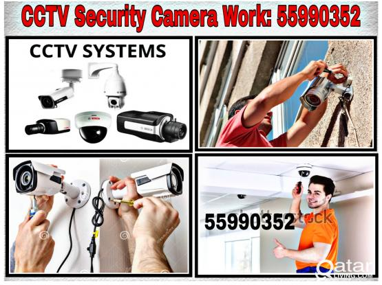 CCTV Security Camera Work call 55990352