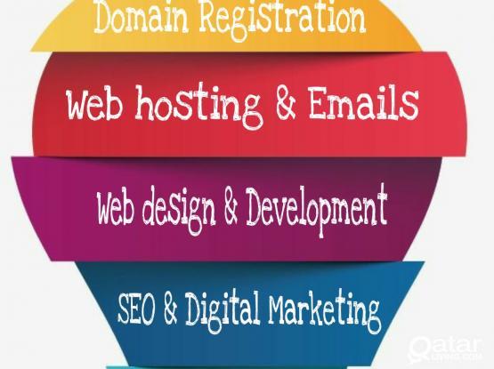 Web designing/ domain/ Redesigning / ecommerce