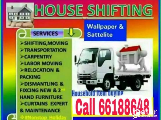 Moving and shifting for good price. Please call us anytime on 66188648
