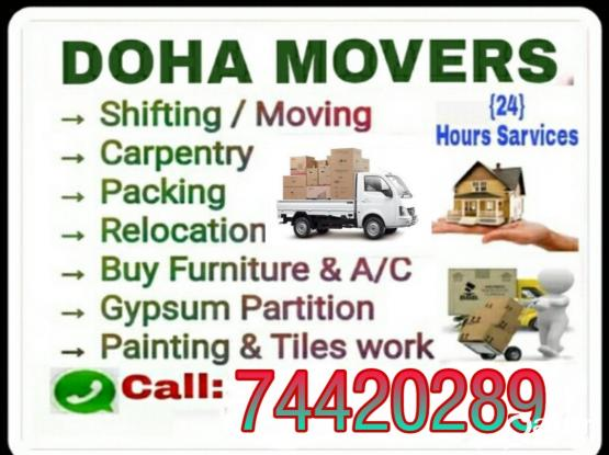 Shifting...moving.. Transportation service..call me  7442 0289