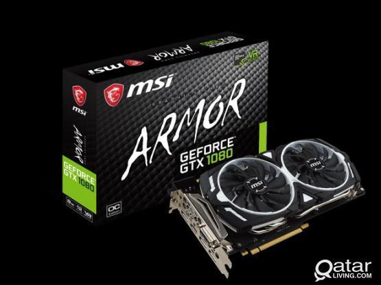 MSI GEFORCE GTX 1080 ARMOR 8G OC FIXED Price