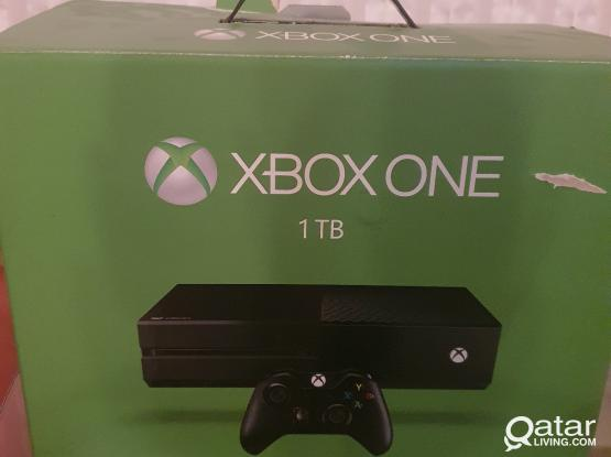 Xbox one 1TB with 17    games