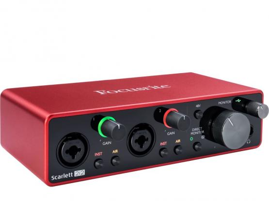 New Focusrite Sound Card 3rd Gen