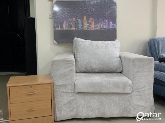 Sofa chair+drawer