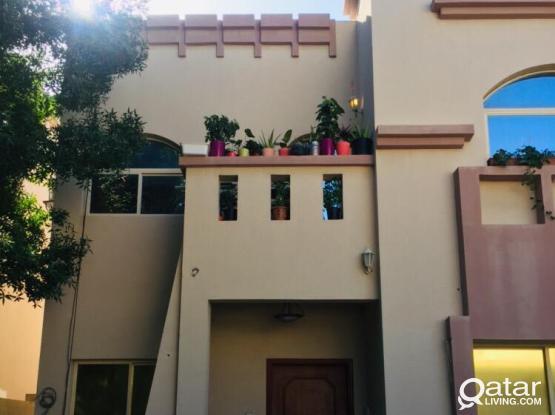 1bhk villa part apartment with balcony, al maamoura, near dana hypermarket