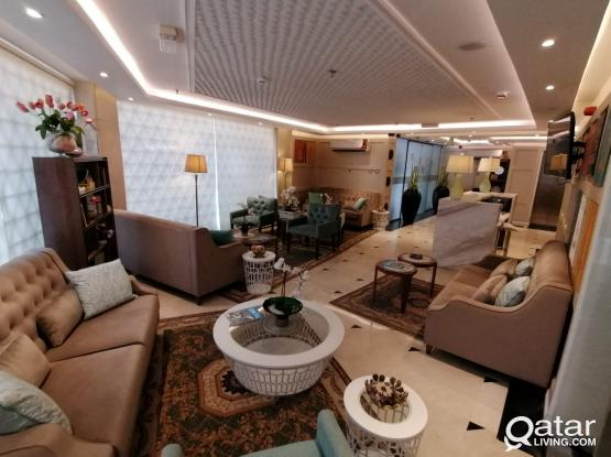 Full building contract Furnished Stylish Studio Hotel Apartment