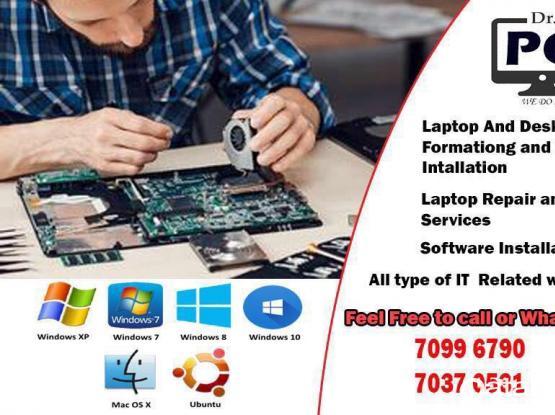 Laptop Format And Windows Installation/Repair
