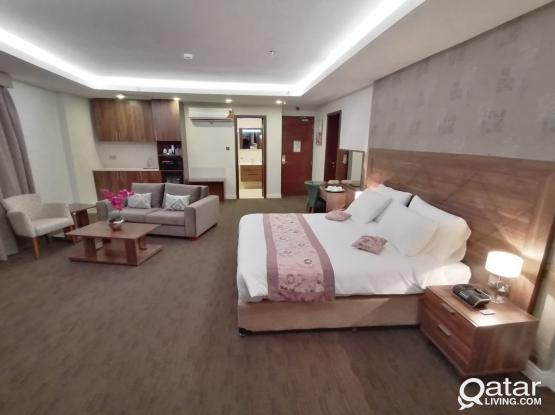 Full Building Contract Luxury Hotel Apartments 1BHK Fully Furnished