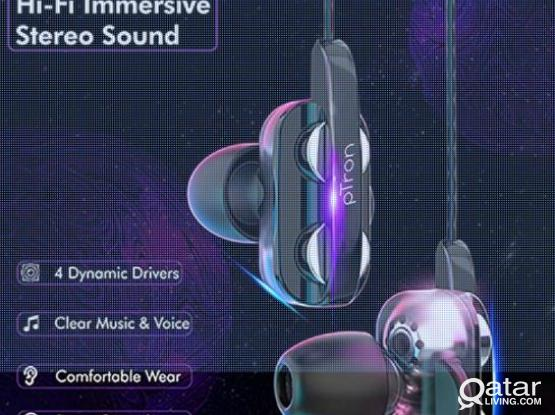 Mobile Gaming earphones 4D Dual driver