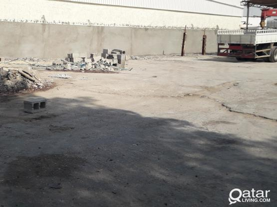 SCRAP LAND WITH STORE FOR RENT IN INDUSTRIAL AREA