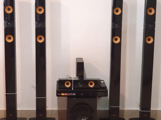 Home Theater System 5.1 LG 1200W