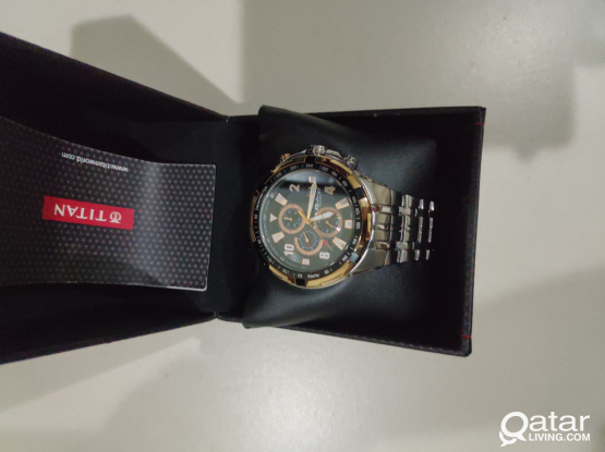 Titan Octane watch, rose gold,coronagraph