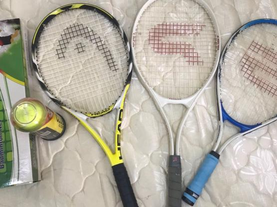 Tennis Racket And Accessories