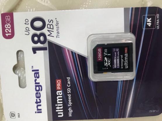128gb Memory Card And Boya Mic