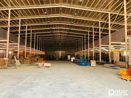 3000 SQM Steel Factory In Industrial Area
