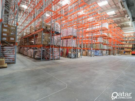 Food & General Storage with Facilities!.