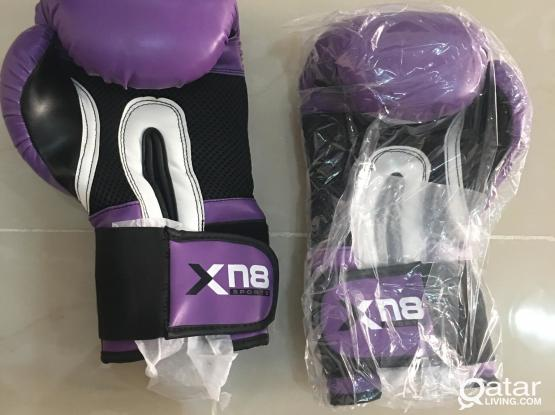 Thai boxing gloves brand new