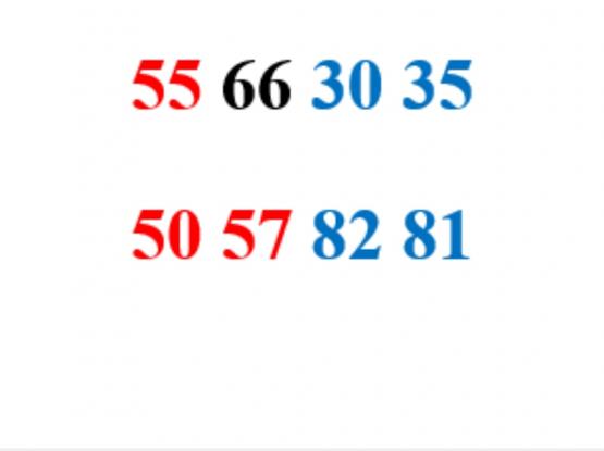 Ooredoo numbers
