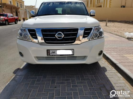 Nissan Patrol Platinum 2012
