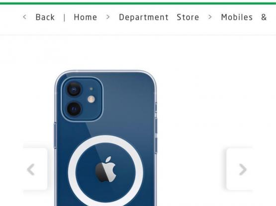 iPhone 12 Mini Magsfe Clear Case