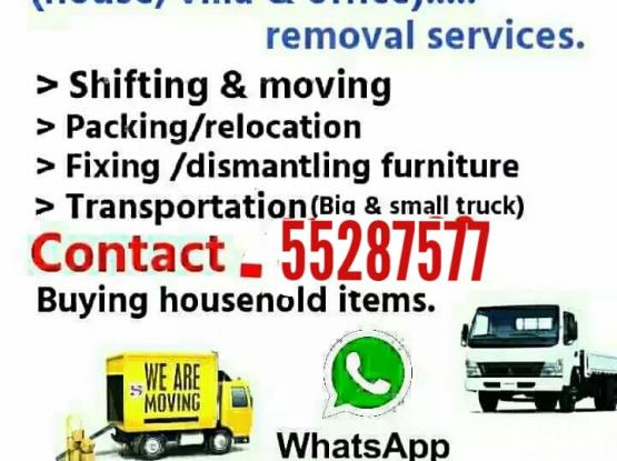 We do less price.....moving shifting carpenter transport service. Pleas call me 55287577