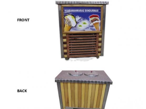 Ice Cream Drum/Turkish Ice Cream Machine