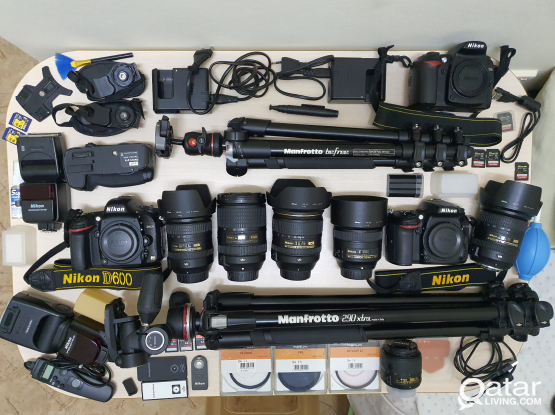 Nikon DSLR's and Accessories
