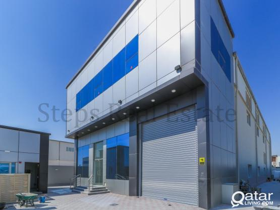 Luxury Brand New Warehouse With rooms & offices