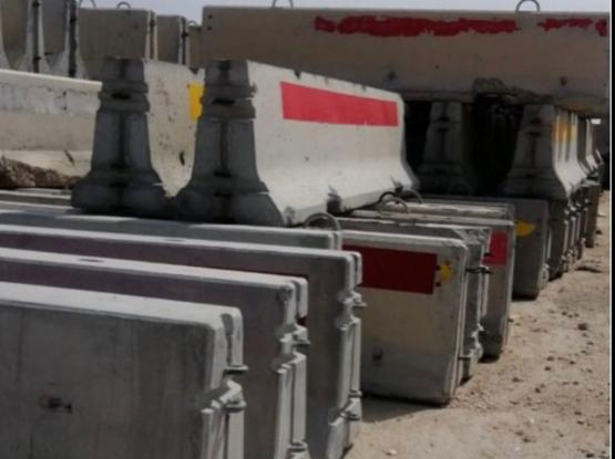 Required Concrete Barriers