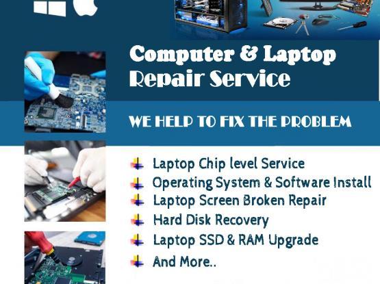 MACBook/Computer/Laptop Repair |  Software & Hardware| Laptop Battery, Keyboard & Screen Changing