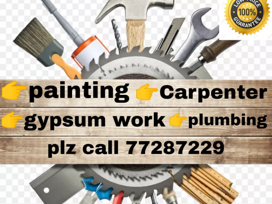 gypsum Partition★Carpenter★painting.low price