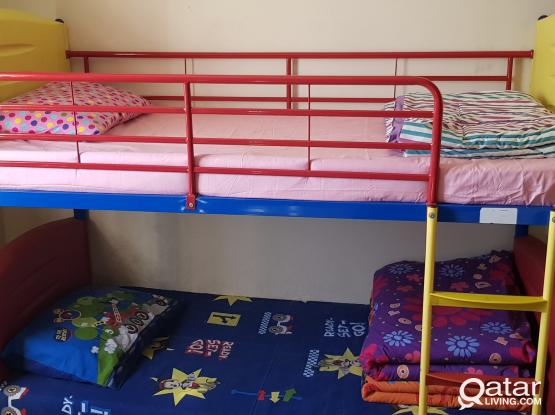 Bunk Bed with Matress from Home Center for Sale