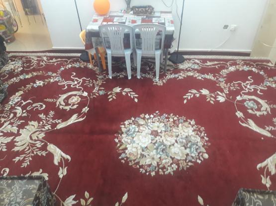 Carpet and Tv Panasonic plasma 41 inch