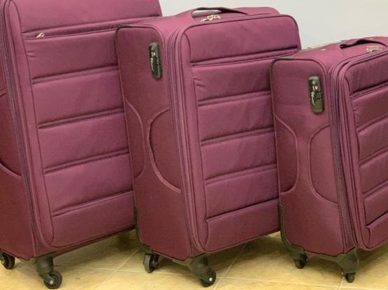 Set Of Three Travel Bags