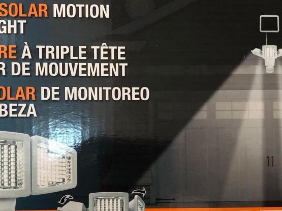 Triple Solar Motion Light