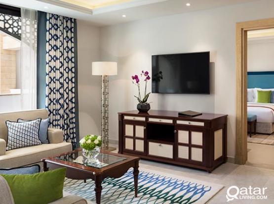 Brand New Serviced Apartment near Souq Waqif ( LP 102501 )
