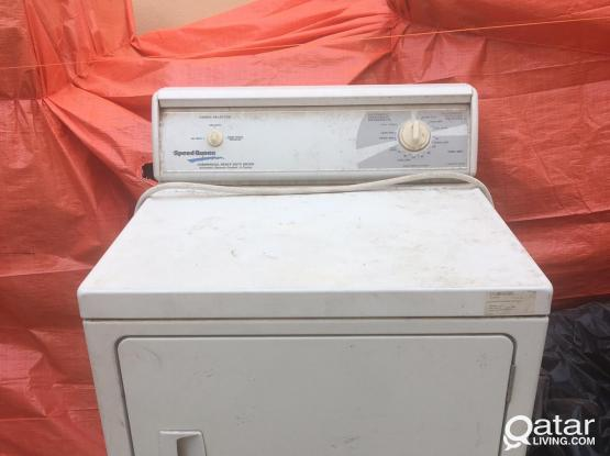 INDUSTRIAL CLOTHES DRYER FOR FREE !!