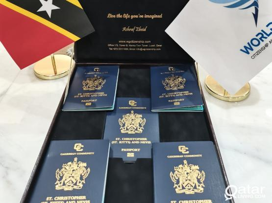 St. Kitts Citizenship (Limited and Special offer)