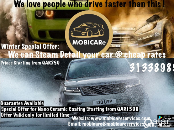 Mobile Car Cleaning company for sale