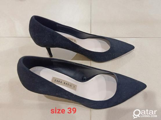 Zara stiletto heels