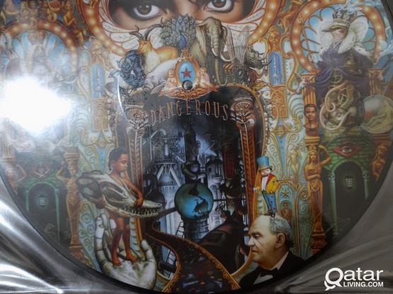 Michael Jackson Picture vinyl LP 3 Albums
