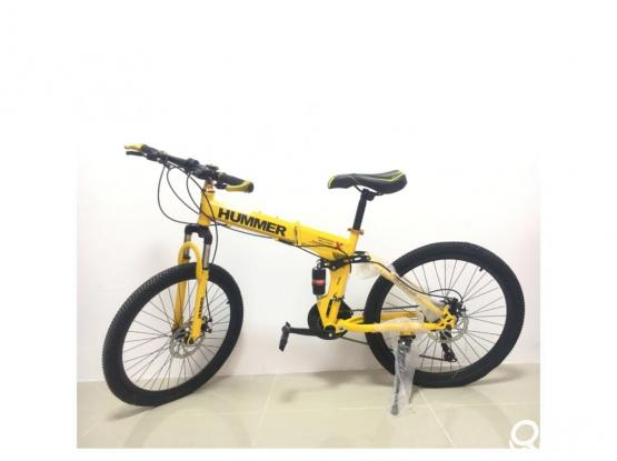 Brand New Hummer Foldable Cycle