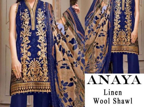 Anaya Linen Dress