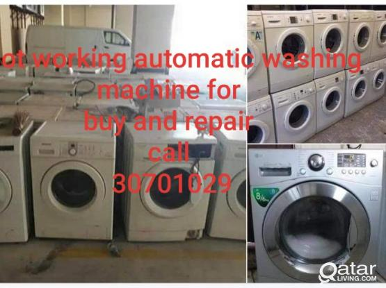 Not working washing machine for buying. 30701029