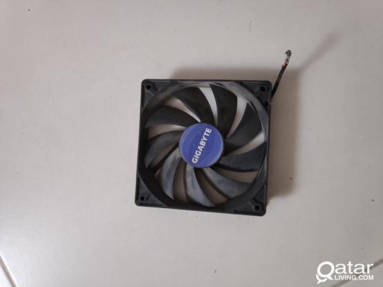2 pieces Desktop computer cooling fan (big Size)